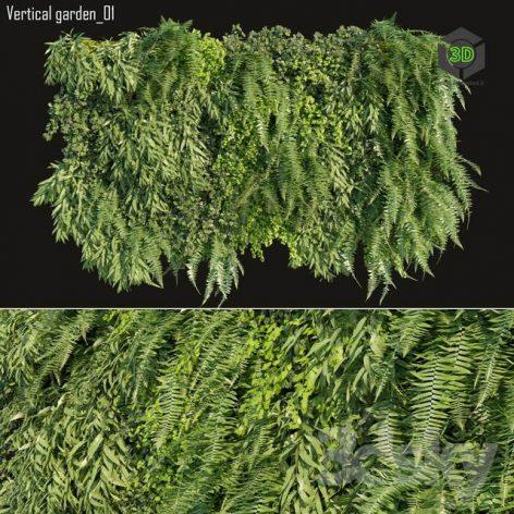 Vertical Garden 01(3ddanlod.ir) 2742