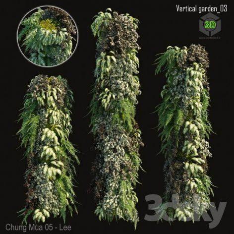 Vertical Garden 03(3ddanlod.ir) 2744