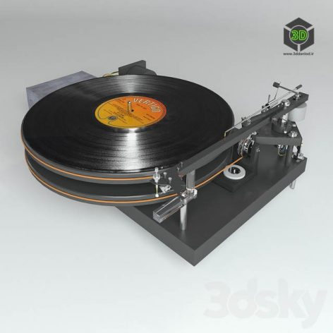 Vinyl Player 47 Laboratory 4724 Koma(3ddanlod.ir) 2626