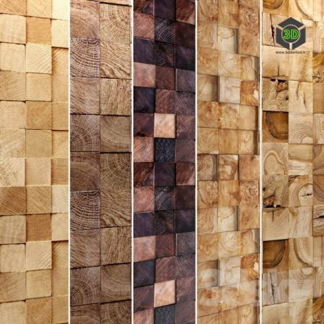 Wooden Mosaic Collection(3ddanlod.ir) 2547