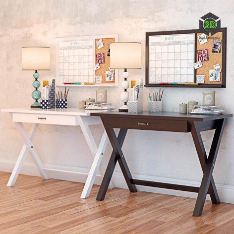 X Frame Desk PBTEEN(3ddanlod.ir) 2842