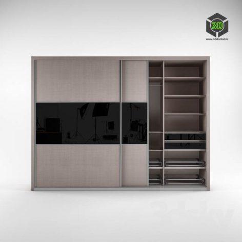 Shkaf closet (3ddanlod.ir)