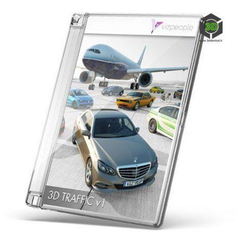3D TRAFFIC v1 cover (3ddanlod.ir)