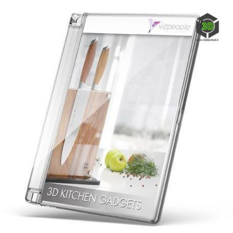 3D_KITCHEN_GADGETS_Catalog cover (3ddanlod.ir)