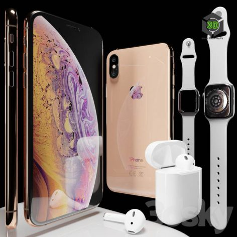 AVE Apple Set 2018(3ddanlod.ir) 681