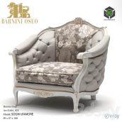 Armchair Barnini Oseo Sogni Amore(3ddanlod.ir) 144