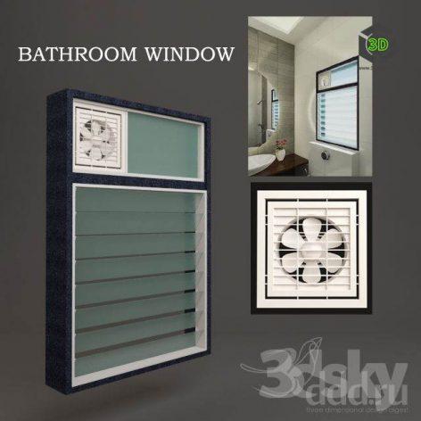 BATHROOM WINDOW (3ddanlod.ir)