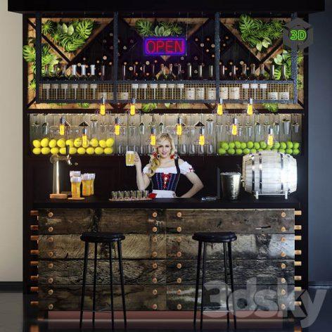 Bar Counter(3ddanlod.ir) 246