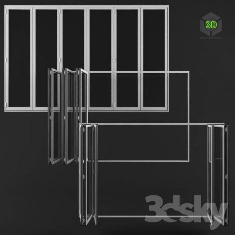 Basic Folding Door (3ddanlod.ir)