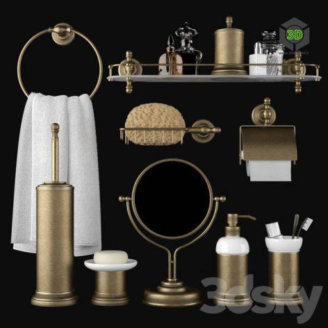 Bathroom Accessories Migliore Mirella(3ddanlod.ir) 395