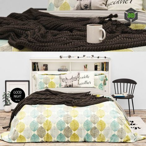 Bed LONNY STORAGE BED from Pottery Barn(3ddanlod.ir) 443