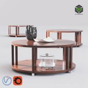 Bolier Atelier Round Cocktail Table(3ddanlod.ir) 150