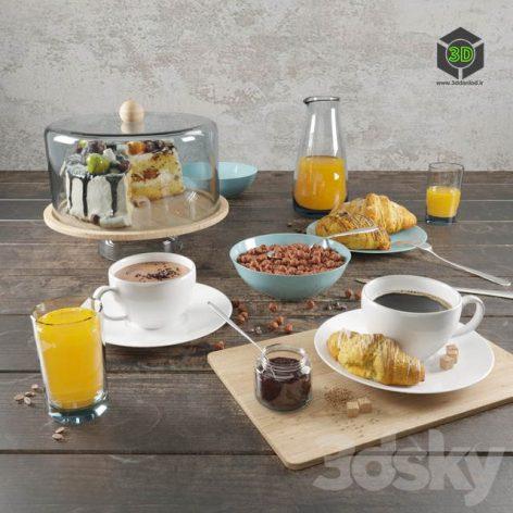 Breakfast Set(3ddanlod.ir) 581