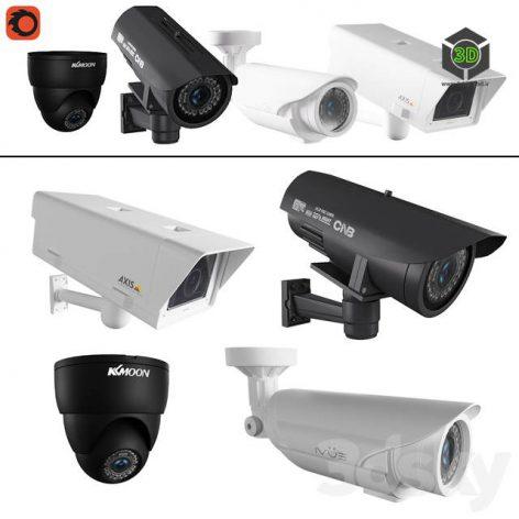 CCTV Cameras(3ddanlod.ir) 746