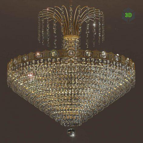Chandelier Masiero Impero Deco VE 828 8(3ddanlod.ir) 1004