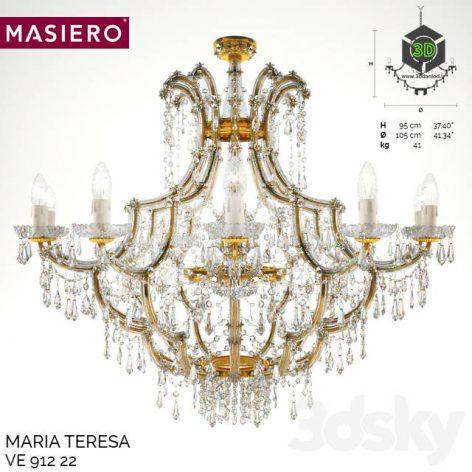 Classic Chandelier Masiero Maria Teresa(3ddanlod.ir) 285