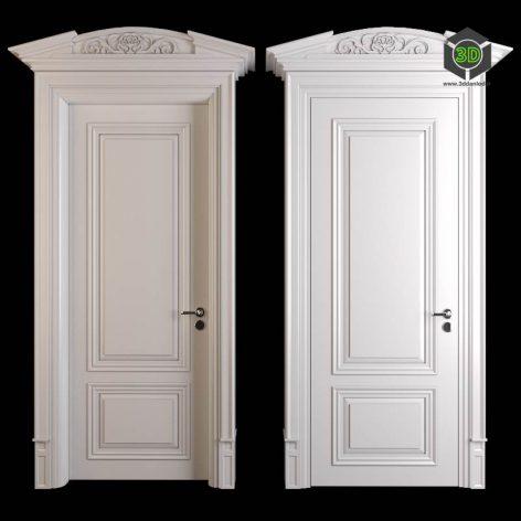 Classic Door 1(3ddanlod.ir) 787