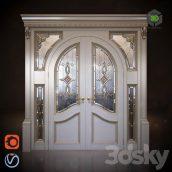 Classic Doors Arch(3ddanlod.ir) 234