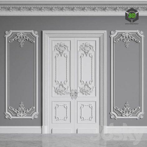 Classic Interior Decor 1(3ddanlod.ir) 524