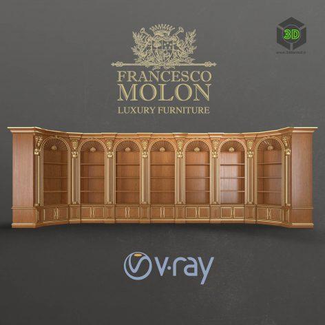 Classic Sabinet Library Francesco Molon(3ddanlod.ir) 1011