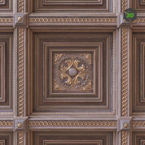 Coffered Ceiling(3ddanlod.ir) 782