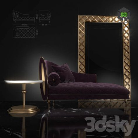 Couch Sipario from Arredoclassic(3ddanlod.ir) 507