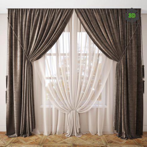 Curtain 44(3ddanlod.ir) 023