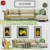 De La Espada Sofa Frame Armchair Woody(3ddanlod.ir) 545