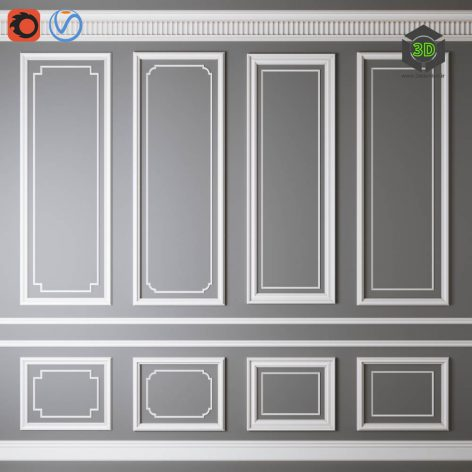 Decorative Molding 011(3ddanlod.ir) 788