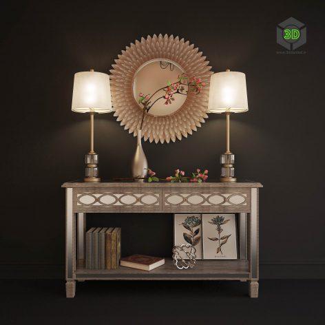 Decorative Set N4(3ddanlod.ir) 870