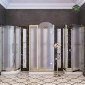 Devon & Devon Arabesque Shower Trays With Stalls(3ddanlod.ir) 009