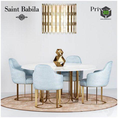 Dining Group Prive SAINT BABILA(3ddanlod.ir) 539