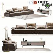 Ditre Italia Flick Flack Sofa(3ddanlod.ir) 861