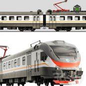 Electric train EP2D(3ddanlod.ir) 715