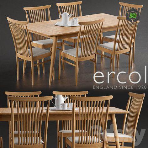 Ercol Teramo Dining Chair(3ddanlod.ir) 222