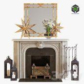 Fireplace 2(3ddanlod.ir) 338