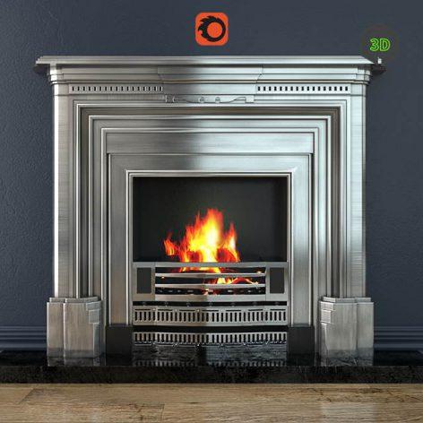 Fireplace Stovax Knightsbridge corona (3ddanlod.ir) 825