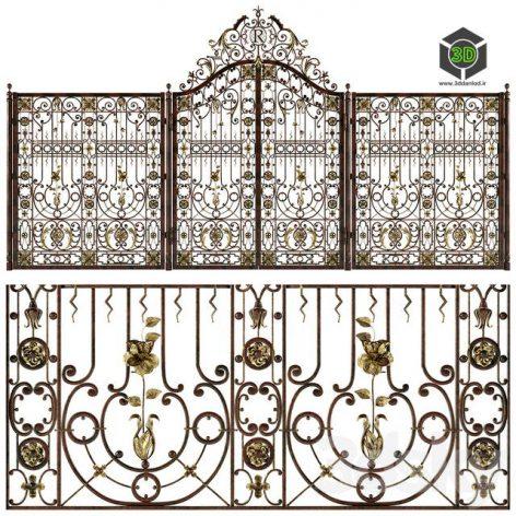 Forged Gates and Fences(3ddanlod.ir) 609