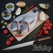 Fresh Fish(3ddanlod.ir) 295