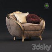 Goldconfort Paradise Armchair(3ddanlod.ir) 1230