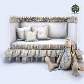Hare Baby Bedding and Bed IKEA(3ddanlod.ir) 1108