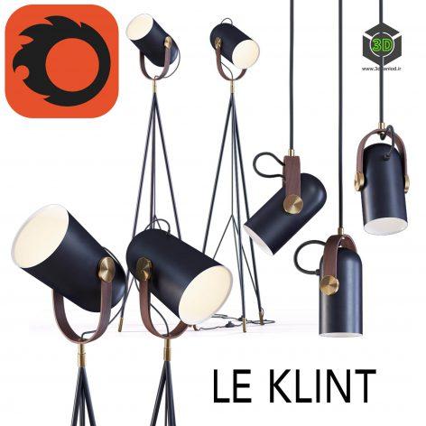 High Floor Lamp and Pendant Lamp By Le Klint(3ddanlod.ir) 1020