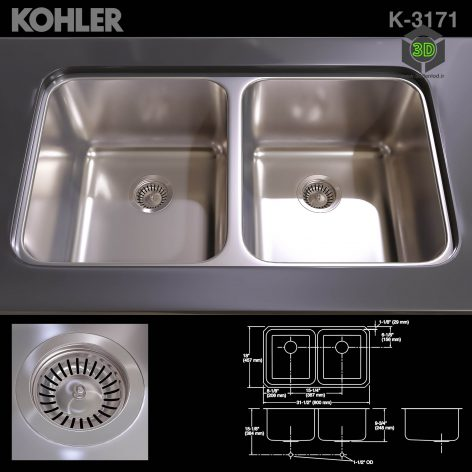 KOHLER K 3171 SINK(3ddanlod.ir) 1412