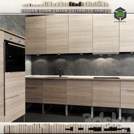Kitchen IKEA Method Brokhult(3ddanlod.ir) 1083