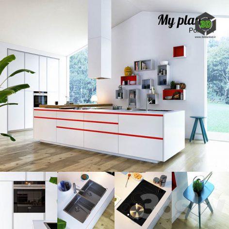 Kitchen Poliform Varenna My Planet 3(3ddanlod.ir) 1127