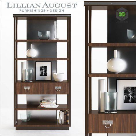 Lillian August Walker Bookcase(3ddanlod.ir) 1431