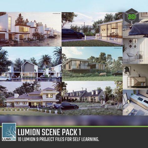 Lumion 9 Scene Pack 1 by Lohia Visuals(3ddanlod.ir)