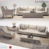Luxdeco Living Room Furniture Set(3ddanlod.ir) 1280
