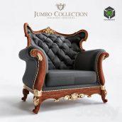 Luxury Classic Sofa Jumbo Collection 2(3ddanlod.ir) 1283