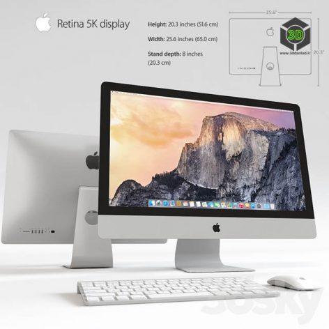 Monitor Apple Retina 5K(3ddanlod.ir) 1064